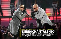Wisin & Yandel Te Siento En Vivo Premios Billboard