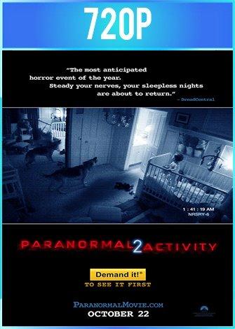 Actividad Paranormal 2 (2010) BRRip HD 720p Latino Dual