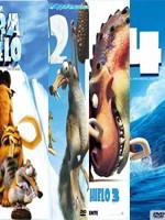 La Era Del Hielo 1, 2, 3 y 4 DVDRip Español Latino