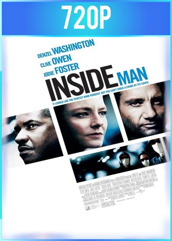 Inside Man (2006) BRRip HD 720p Latino Dual