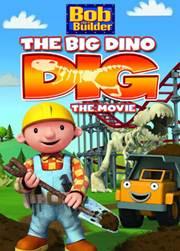 Portada de Bob el Constructor La Gran Dino Excavación DVDRip Español Latino
