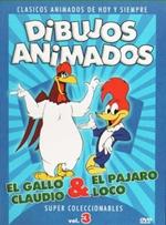 Dibujos animados El Gallo Claudio y El Pajaro Loco DVDR Menu Full Español Latino NTSC