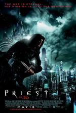 Portada de El Sicario de Dios [Priest] 2011 DVDRip Español Latino