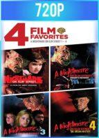 Pesadilla en Elm Street 1 2 3 4 [Freddy Krueger] HD 720p Latino Dual