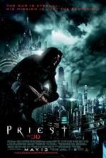 Portada de Sicario de Dios [Priest] BRRip Español Latino 480p 3D