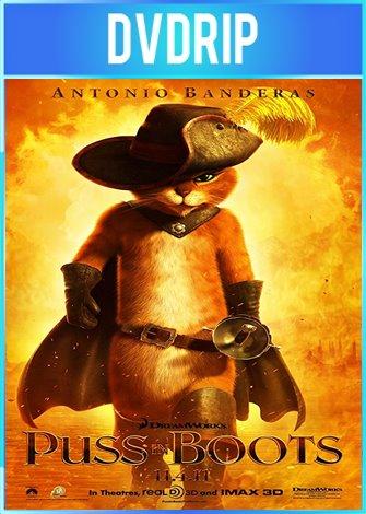 El Gato Con Botas [Puss in Boots] (2011) DVDRip Latino