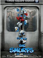 Portada de Los Pitufos [The Smurfs] 2011 [DVDRip] Castellano Descargar [1 Link]