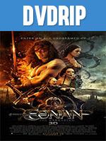 Portada de Conan El Barbaro DVDRip Latino