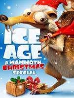 Portada de La Era de Hielo Una Navidad Tamaño Mammut 2011 DVDR Menu Latino