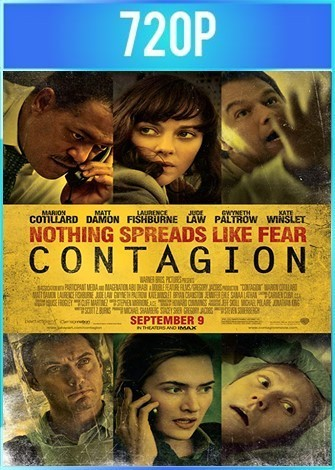 Contagion (2011) BRRip HD 720p Latino Dual