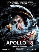Portada de Apollo 18 La Mision Prohibida DVDR NTSC Español Latino ISO 2011