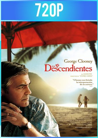 Los Descendientes (2011) BRRip HD 720p Latino Dual