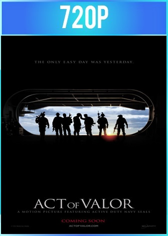 Act of Valor (2012) BRRip HD 720p Latino Dual