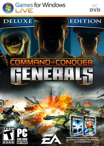 Command y Conquer Generals Deluxe Edition PC Full Español
