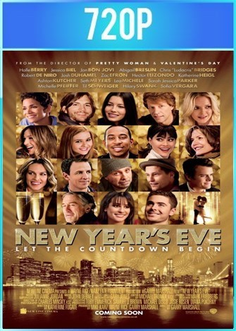 New Years Eve (2011) HD BRRip 720p Latino Dual