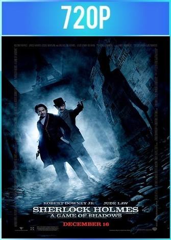 Sherlock Holmes 2 Juego de Sombras (2011) BRRip 720p HD Latino