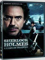 Portada de Sherlock Holmes A Game of Shadows DVDR NTSC Español Latino