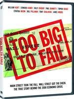 Portada de Too Big to Fail DVDR NTSC Español Latino Descargar 2011