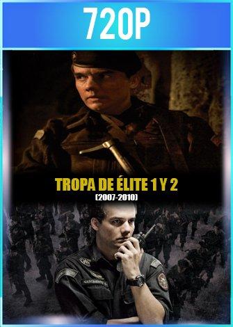 Tropa de Élite 1 y 2 (2007-2010) HD 720p Latino