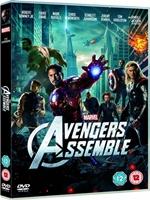 Portada de The Avengers DVDR NTSC Full Español Latino 2012