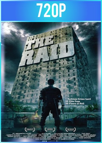 The Raid Redemption (2011) BRRip HD 720p Latino Dual
