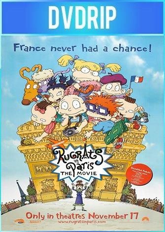Los Rugrats en Paris La Película (2000) DVDRip Español Latino
