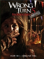 Portada de Wrong Turn 5 DVDR NTSC Español Latino Menú Full 2012 UNRATED