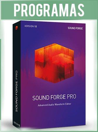 MAGIX Sound Forge Pro Español Versión 12.6