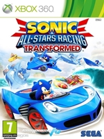 Portada de Sonic All Stars Racing Transformed Xbox 360 Español Región Free 2012