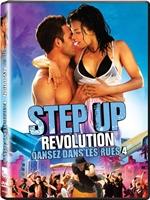 Portada de Step Up Revolution DVDR NTSC Español Latino Menú Full 2012