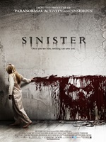 Portada de Sinister DVDRip Español Latino Película 2012