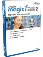 ArcSoft Magic Visual Effects 2 HD Full Programa para Webcam Portada