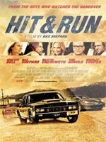 Hit and Run DVDR NTSC Español Latino 2012 Portada