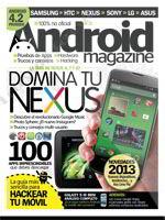 Revista Android Magazine Español Enero 2013 Portada