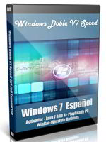 Windows Doble V7 Speed Sp1 Full Español ISO Portada