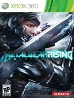 Portada de Metal Gear Rising Revengeance Xbox 360 Español Region Free XGD3