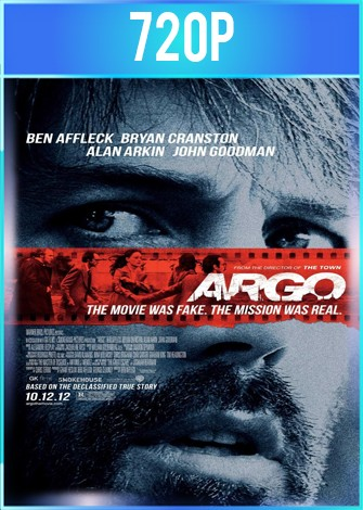 Argo (2012) BRRip HD 720p Latino