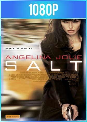 Agente Salt (2010) BRRip HD 1080p Latino Dual