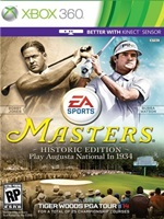 Tiger Woods PGA Tour 14 Masters Historic Edition Xbox 360 Region Free