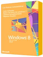 Windows 8 All In One Versión 3.0 TEU Español