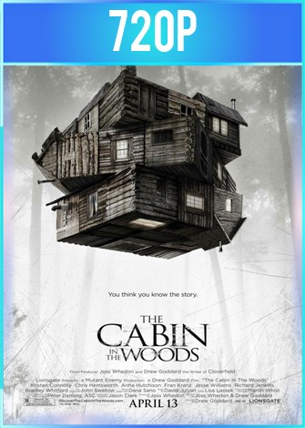 The Cabin In The Woods (2012) HD 720p Latino Dual