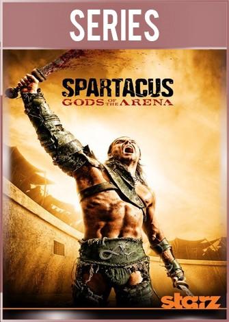 Spartacus Precuela Dioses de la Arena Serie Completa HD 720p Latino
