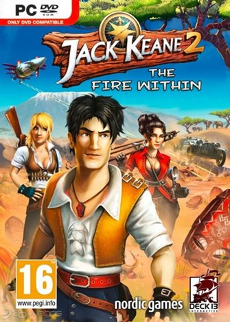 Jack Keane 2 - The Fire Within (2013) PC Full