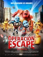 Portada de Operación Escape DVDRip Español Latino