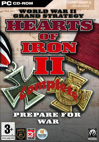 Hearts of Iron 2 Complete (2006) PC Full