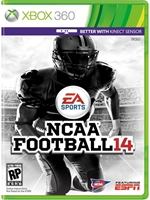 NCAA Football 14 Xbox 360 NTSC XGD2