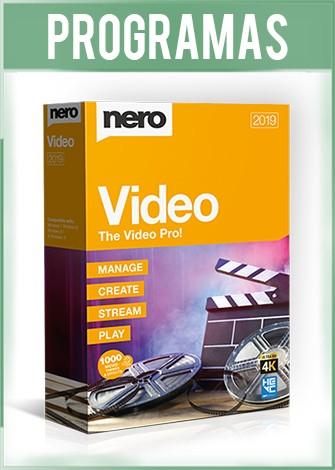 Nero Video 2019 Versión 20.0 Español