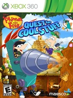 Portada de Phineas And Ferb Quest For Cool Stuff XBOX 360 NTSC XGD2