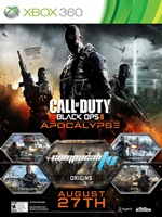 Call of Duty Black Ops 2 Apocalypse DLC Xbox 360