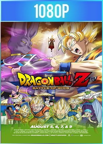 Dragon Ball Z Batalla de los Dioses (2013) HD 1080p Latino Dual